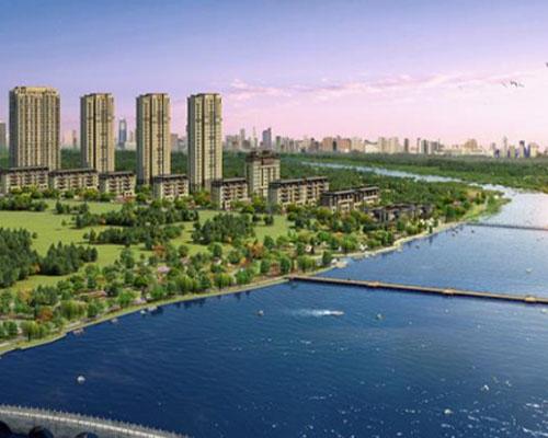 郑州瀚宇为河北鹏渤集团建造泳池案例