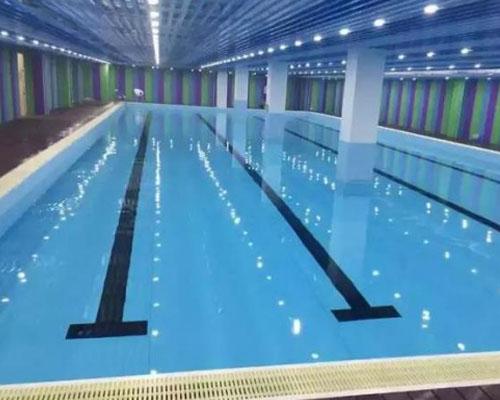 郑州瀚宇为涡阳陈侠教育机构建造泳池案例