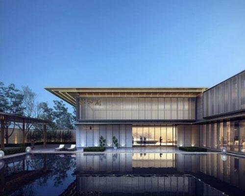郑州瀚宇为安阳建业世和府建造泳池案例