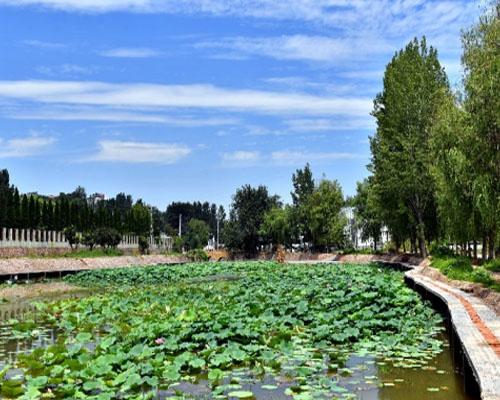郑州瀚宇为郑州樱桃沟景区建造游泳池案例